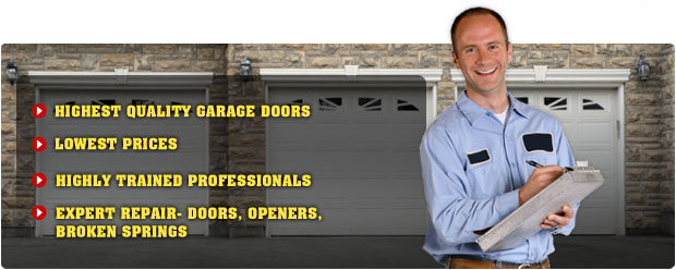 Mount Pleasant Garage Door Repair